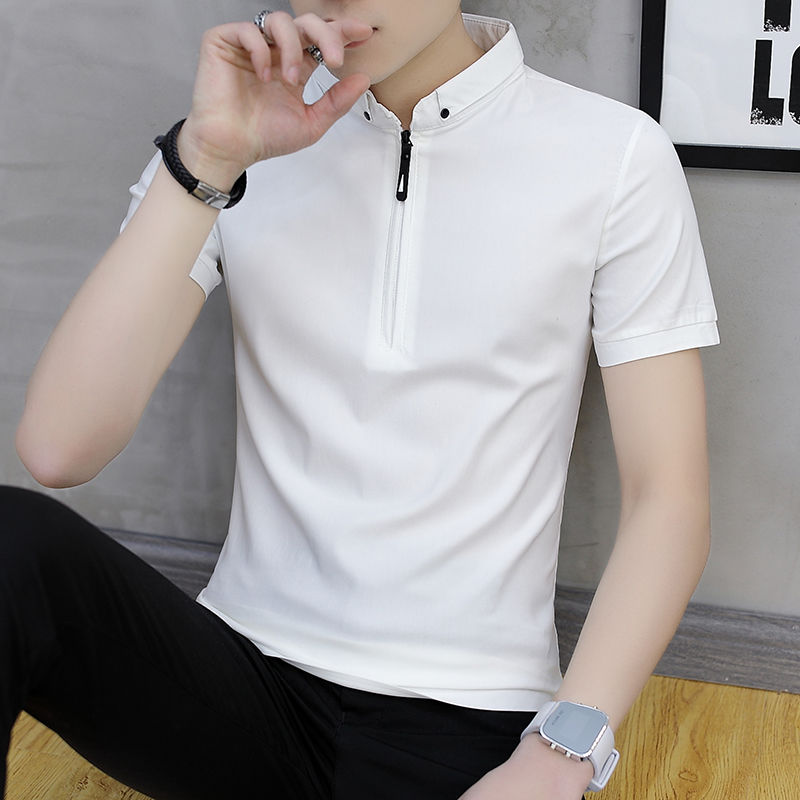 High Cotton Summer Men's Short Sleeve Polo Men's Short Sleeve T-shirt Men's Polo Shirt Men's Casual Top