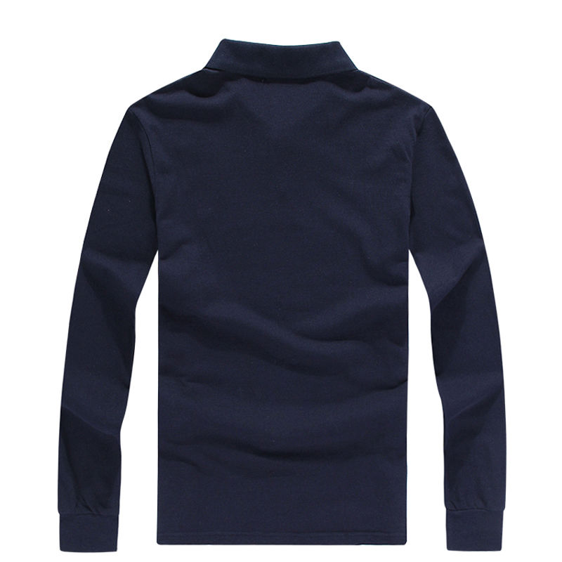 Autumn And Winter Clothing Hong Kong Authentic Buy Paul Long Sleeve T-shirt Men's Pure Cotton Polo Shirt Business Leisure Large