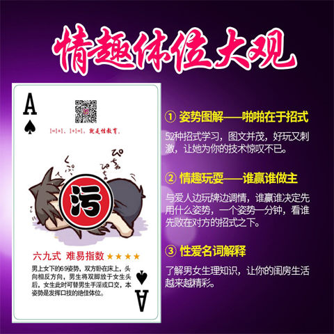 [additional Course] 52 Style Skills Analysis Of Body Posture Of Interest Poker SM Toys