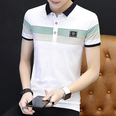 Men's Short Sleeve T-shirt Polo Shirt